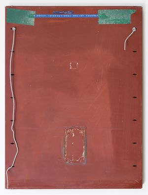 charity tray by The Estate of L Budd contemporary artwork