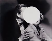 Touch by John Stezaker contemporary artwork painting