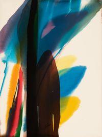 Phenomena Tree House Nail by Paul Jenkins contemporary artwork painting