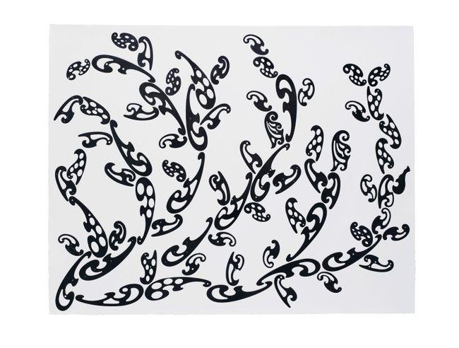 Seriously Retinal / Serious Poke (Pingelapesian monstera delicosa) by Ryan Gander contemporary artwork
