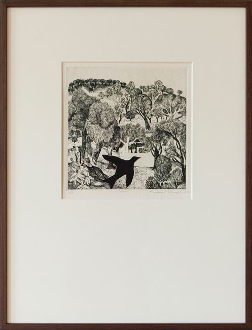 Crow by Mrinalini Mukherjee contemporary artwork