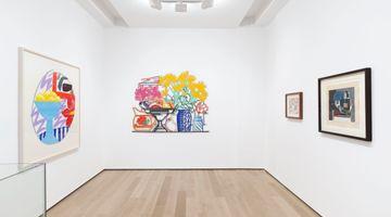 Contemporary art exhibition, Group Exhibition, Still Life at Almine Rech, Avenue Matignon, Paris
