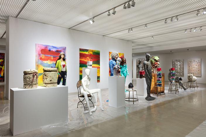 Exhibition view:CI Kim, Voice of Harmony, ARARIO GALLERY CHEONAN, Cheonan (23 May–13 October 2019). CourtesyARARIO GALLERY.