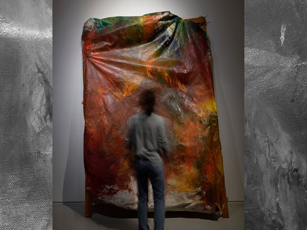 Masato Kobayashi, Unnamed #10, 1998, oil, canvas, wooden frame, 290x190x85cm