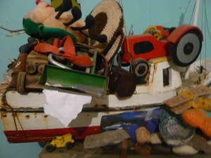 Tony's Toys by Peter Peryer contemporary artwork