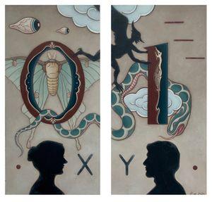 Yin Yang. 0.1. by Guan Wei contemporary artwork painting