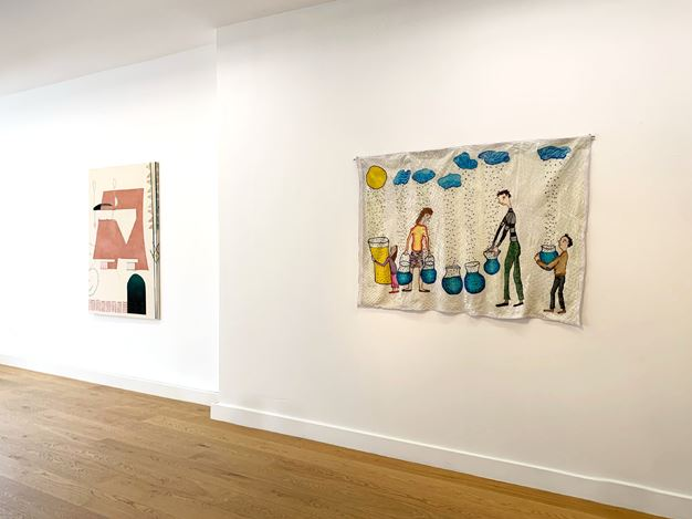 Exhibition view: Group Exhibition, Alternate Spaces, Flatland Gallery, Amsterdam (28 March–2 May 2020).Courtesy FLATLAND.