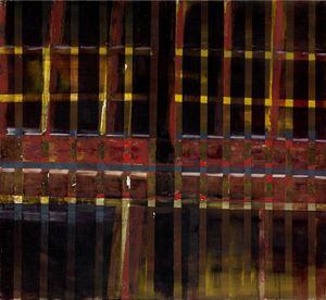 中國建築系列-門格 Chinese Architecture Series-Door Panes by Wei-Jane Chir contemporary artwork