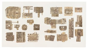 Fragments after In-Habit: Project Another Country I by Alfredo & Isabel Aquilizan contemporary artwork