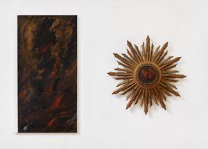 Untitled (England II) (and clock) by Derek Jarman contemporary artwork