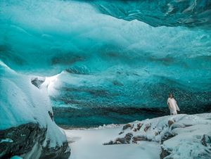 Under Opaline Blue (Stones Against Diamonds) by Isaac Julien contemporary artwork