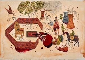 Mesh by Shiva Ahmadi contemporary artwork