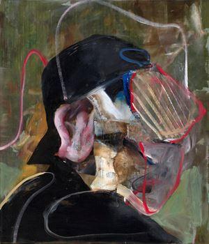 Self-Portrait by Adrian Ghenie contemporary artwork