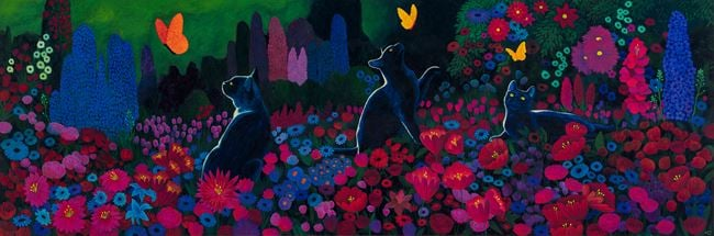 Allegorical Cats by Martin Jacobson contemporary artwork
