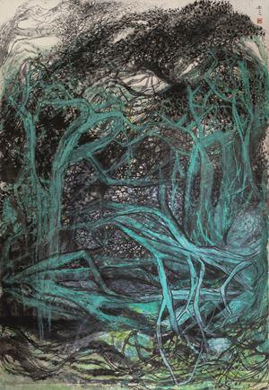 Birds Returning 回來鳥 by Shen Aiqi contemporary artwork