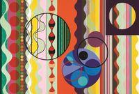 Sugar by Beatriz Milhazes contemporary artwork print