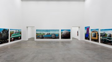 Contemporary art exhibition, Andreas Schulze, Stau at Sprüth Magers, Berlin