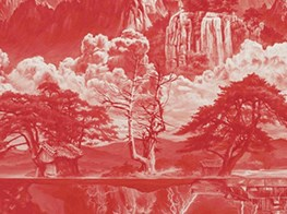 Korean contemporary landscape paintings in Hong Kong show have Chinese echoes