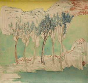 Blue Water 《滄》 by Yuan Jai contemporary artwork