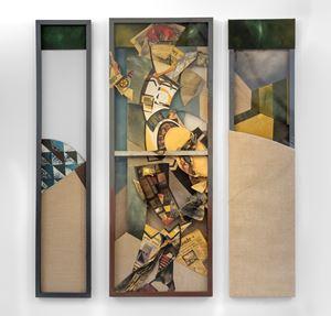 News Man by Jann Haworth contemporary artwork