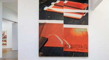 Contemporary art exhibition, Wade Guyton, Natural Wine at Galerie Chantal Crousel, Paris