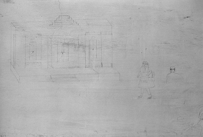 Untitled (6), from the series ' The Mark on the Wall' by Gauri Gill contemporary artwork