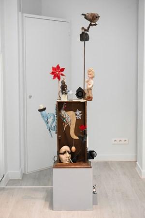 La boîte dans l'oreille d'oiseaue by Tong Kunniao contemporary artwork