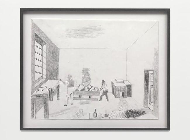 Wine and Bread by Jockum Nordström contemporary artwork