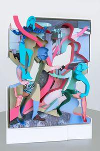 "Model for ""Behavioral Surplus Capture"" by Pieter Schoolwerth contemporary artwork sculpture"