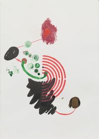The whole is greater 3 by Bharti Kher contemporary artwork painting, works on paper, drawing