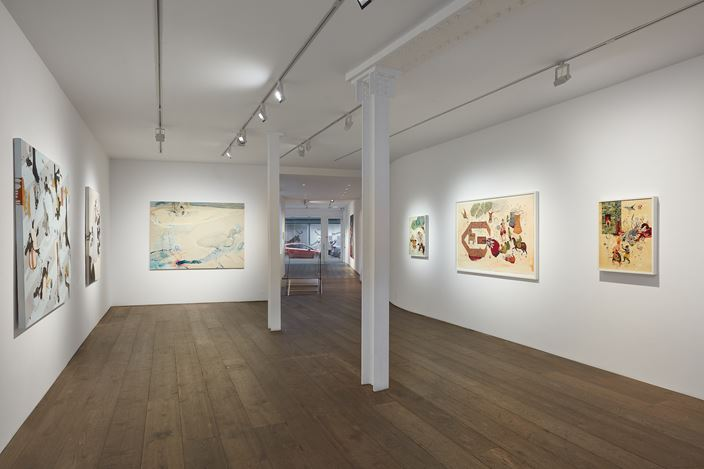 Exhibition view: Group Exhibition, painting the figure, rosenfeld, London (4 February–15 May 2021). Courtesy rosenfeld.