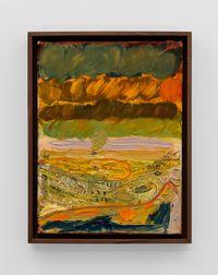 Mt Vesuvius Study II by Lisa Sanditz contemporary artwork painting