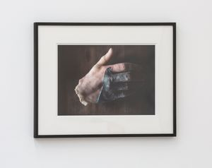 Hand Sculpture from the Tomb by Peter Hujar contemporary artwork painting, works on paper, drawing