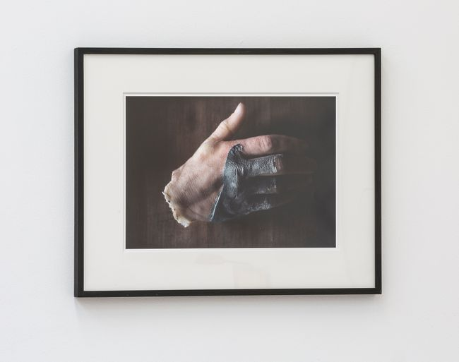 Hand Sculpture from the Tomb by Peter Hujar contemporary artwork