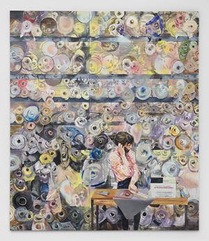 At the Boerenbonthal Stoffen by Paulina Olowska contemporary artwork