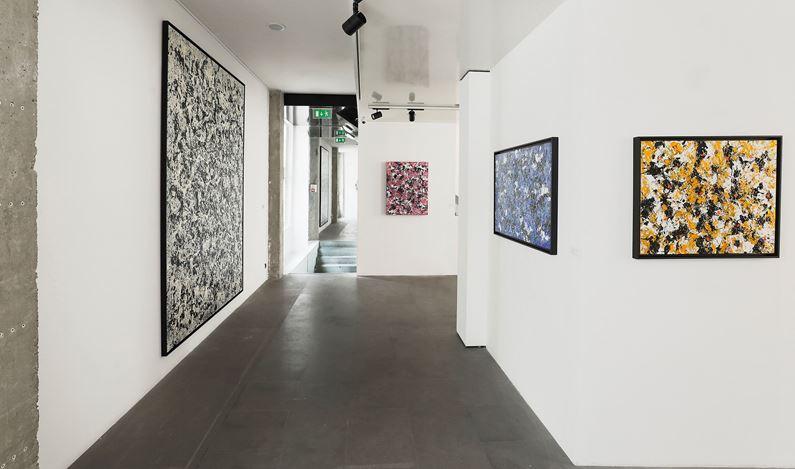Exhibition view: Danhôo, Être de lumière, A2Z Gallery, Paris (27 February–21 March 2020). Courtesy A2Z Gallery.
