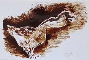 Gander by Sun Xun contemporary artwork