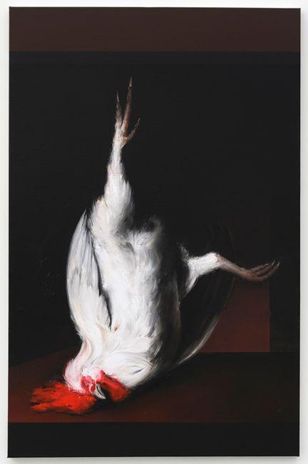 Dead Cock (Donald) (after Metsu) by Mircea Suciu contemporary artwork