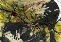 Goya série n°16 by Arnulf Rainer contemporary artwork photography, mixed media