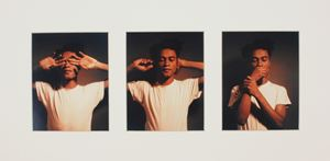 See No Evil, Hear No Evil, Speak No Evil by Carrie Mae Weems contemporary artwork