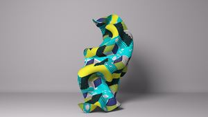 Material (SG) VI by Yinka Shonibare CBE (RA) contemporary artwork sculpture