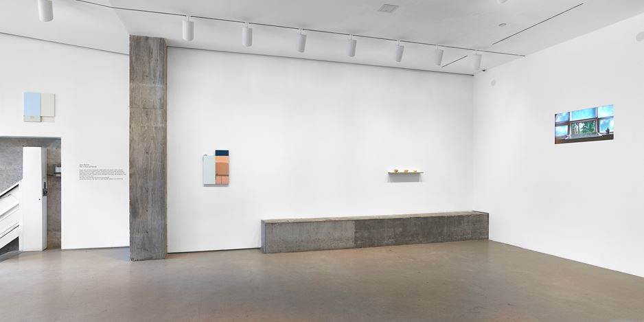 Exhibition view: Jane Bustin,The Colour of Words, Jane Lombard Gallery, New York (27 February–4 April 2020). Courtesy Jane Lombard Gallery.