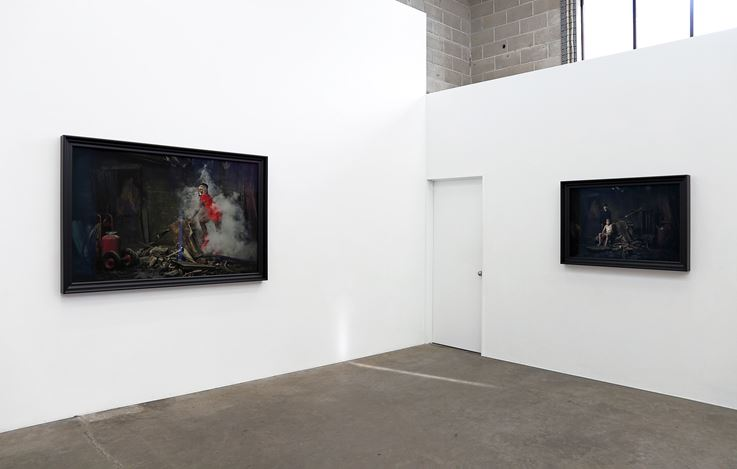 Exhibition view: Heather Straka, Dissected Parlour, Jonathan Smart Gallery, Christchurch (4–27 June 2020). Courtesy Jonathan Smart Gallery.