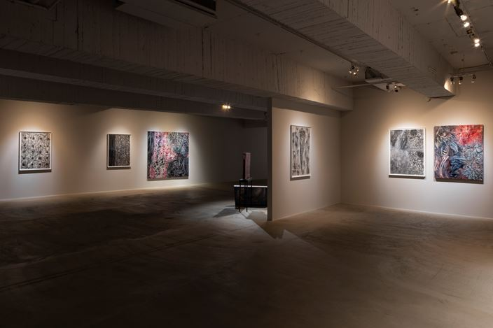 Exhibition view: Juin Shieh, Appearances under Erasure, Mind Set Art Center, Taipei (19 October–30 November 2019). Courtesy Mind Set Art Center.