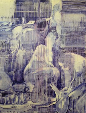 HandMaidens (after Titian) by Adrienne Gaha contemporary artwork