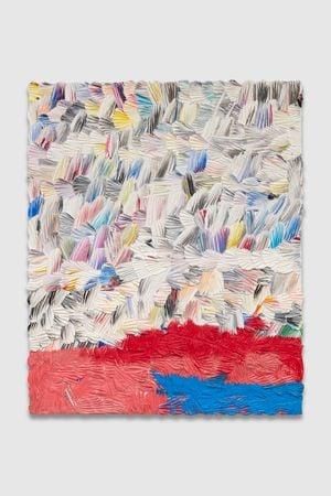 across open space by Dashiell Manley contemporary artwork
