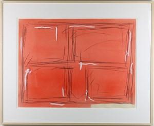 Red by Kishio Suga contemporary artwork