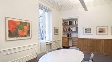 Contemporary art exhibition, Günther Förg, « Standomi un giorno solo a la fenestra… » at Galerie Lelong & Co. Paris, Paris