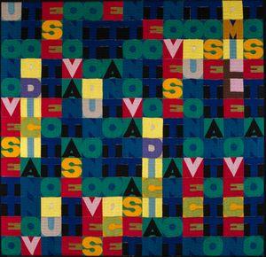 Untitled (MILLENOVECENTO SETTANTOTTO) by Alighiero Boetti contemporary artwork