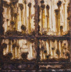 Rusty Gate by Elaine Navas contemporary artwork